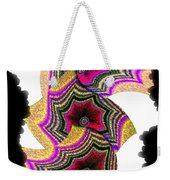 Abstract Fusion 154 Weekender Tote Bag
