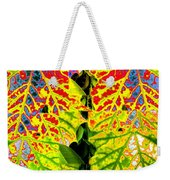 Abstract Fusion 16 Weekender Tote Bag