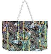 Abstract Fusion 3 Weekender Tote Bag