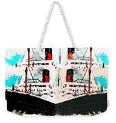 Abstract Fusion 33 Weekender Tote Bag