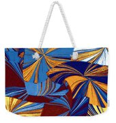 Abstract Fusion 34 Weekender Tote Bag