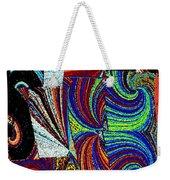 Abstract Fusion 37 Weekender Tote Bag