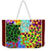 Abstract Fusion 43 Weekender Tote Bag