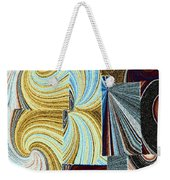 Abstract Fusion 45 Weekender Tote Bag