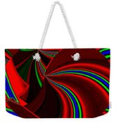 Abstract Fusion 49 Weekender Tote Bag