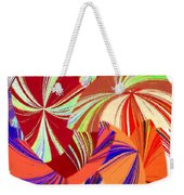 Abstract Fusion 56 Weekender Tote Bag