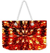 Abstract Fusion 76 Weekender Tote Bag
