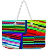 Abstract Fusion 77 Weekender Tote Bag