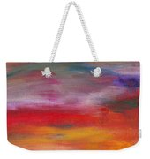Abstract - Guash And Acrylic - Pleasant Dreams Weekender Tote Bag