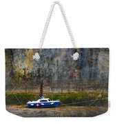 Abstract Harbour And Boat Weekender Tote Bag by Svetlana Sewell