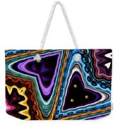 Abstract Hearts Weekender Tote Bag