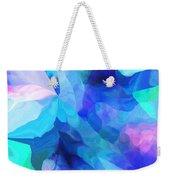 Abstract In Blues 052612 Weekender Tote Bag