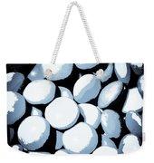 Abstract In Selenium Weekender Tote Bag