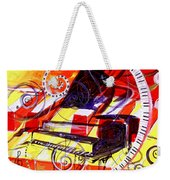 Abstract Jazzy Piano Weekender Tote Bag