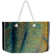 Abstract Jeans Weekender Tote Bag