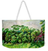 Abstract Landscape 6 Weekender Tote Bag