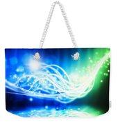 Abstract Lighting Effect  Weekender Tote Bag