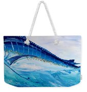 Abstract Marlin Weekender Tote Bag