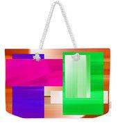 Abstract Number Three Weekender Tote Bag
