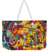 Abstract Pizza 1 Weekender Tote Bag