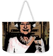 Abstract Portrait Of A Queen Weekender Tote Bag