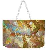 Abstract Puzzle Weekender Tote Bag by Deborah Benoit