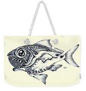 Abstract Redfish Weekender Tote Bag