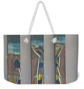 Abstract Reflection 34 Weekender Tote Bag