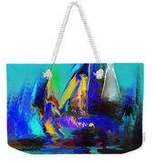 Abstract Regatta Weekender Tote Bag