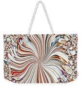 Abstract Seashells Weekender Tote Bag