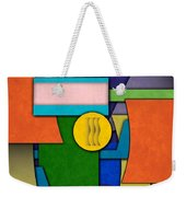 Abstract Shapes Color One Weekender Tote Bag