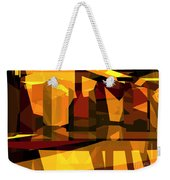 Abstract Sin 27 Weekender Tote Bag