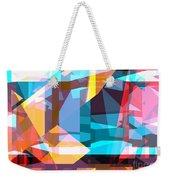Abstract Sin 28 Weekender Tote Bag