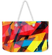 Abstract Sine L 14 Weekender Tote Bag
