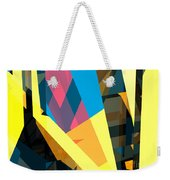 Abstract Sine L 16 Weekender Tote Bag