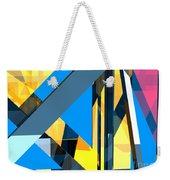 Abstract Sine L 18 Weekender Tote Bag