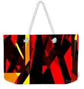 Abstract Sine L 21 Weekender Tote Bag