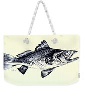 Abstract Speckled Trout Weekender Tote Bag by J Vincent Scarpace