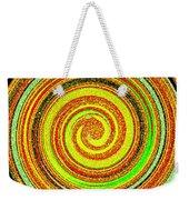 Abstract Spiral Weekender Tote Bag