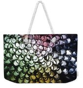 Abstract Straws Weekender Tote Bag