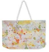 Abstract Summer Sky Watercolor Painting Weekender Tote Bag