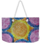 Abstract Sun Weekender Tote Bag
