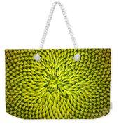 Abstract Sunflower Pattern Weekender Tote Bag