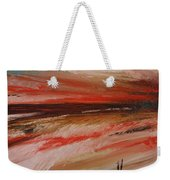 Abstract Sunset II Weekender Tote Bag
