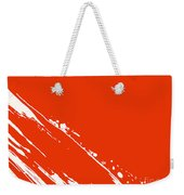 Abstract Swipe Weekender Tote Bag