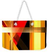 Abstract Tan 6 Weekender Tote Bag