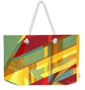 Abstract Tan 9 Weekender Tote Bag