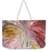 Abstract Vase And Energy Mouvement Weekender Tote Bag