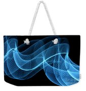 Abstract Wave Weekender Tote Bag