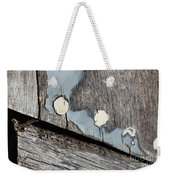 Abstract With Blue Weekender Tote Bag